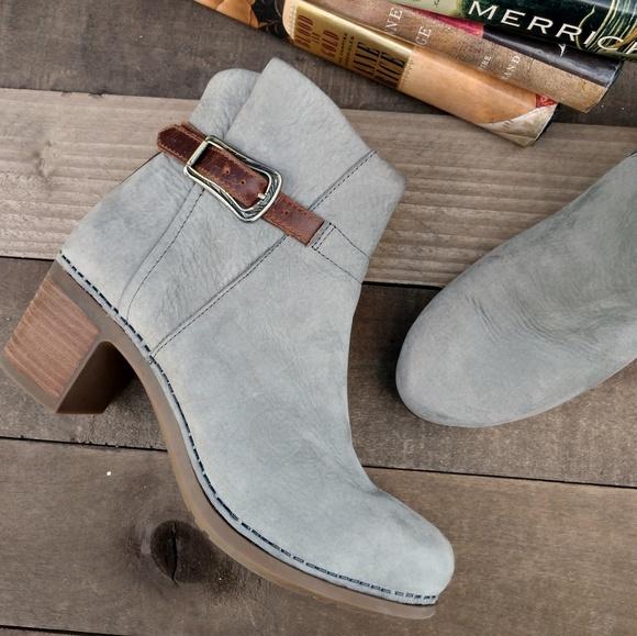 Dansko Hartley Nubuck Leather Bootie